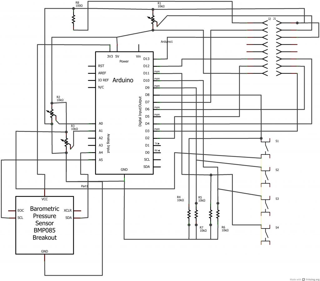 Arduino boost afr Schematic