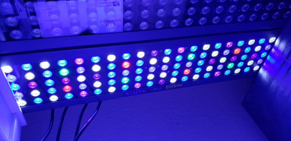 Mars Aqua 300 watt LED modification   MyLife